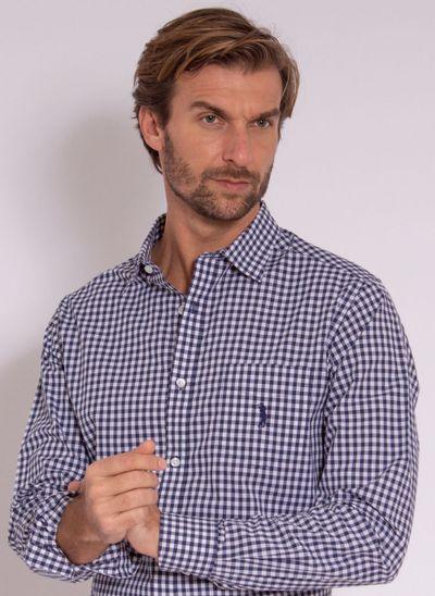 camisa-aleatory-masculina-xadrez-easy-azul-modelo-1-