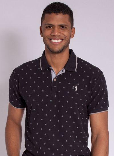 camisa-polo-aleatory-masculina-estampada-circle-preta-modelo-1-