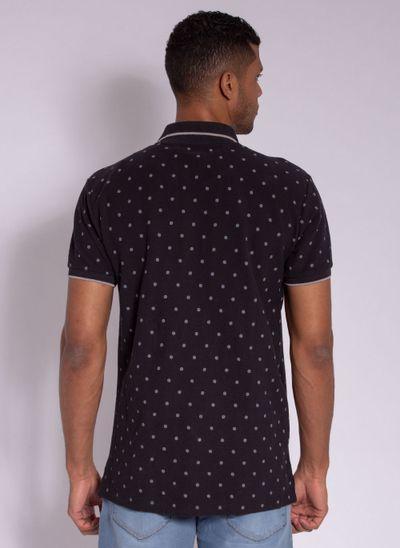 camisa-polo-aleatory-masculina-estampada-circle-preta-modelo-2-