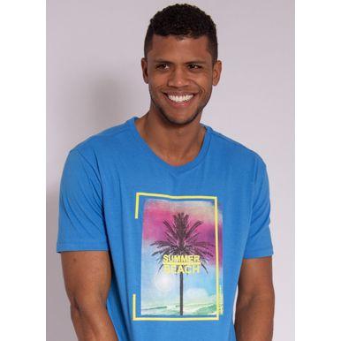 camiseta-aleatory-estampada-summer-beach-azul-modelo-1-