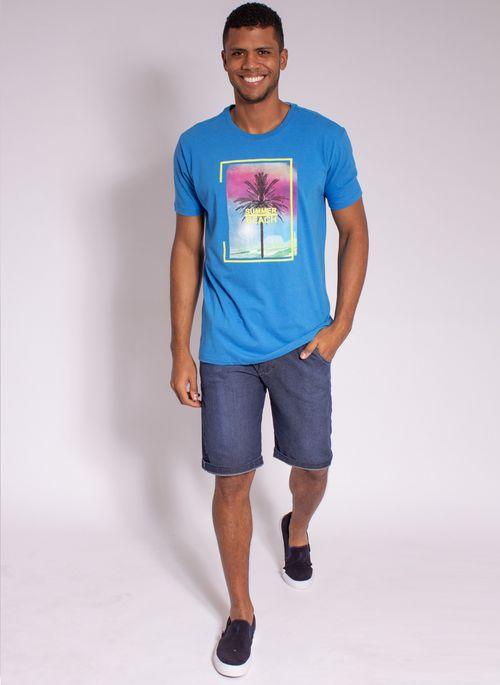 camiseta-aleatory-estampada-summer-beach-azul-modelo-3-