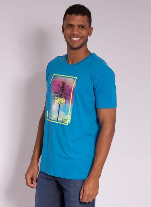 camiseta-aleatory-estampada-summer-beach-azul-modelo-4-