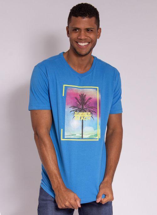 camiseta-aleatory-estampada-summer-beach-azul-modelo-5-