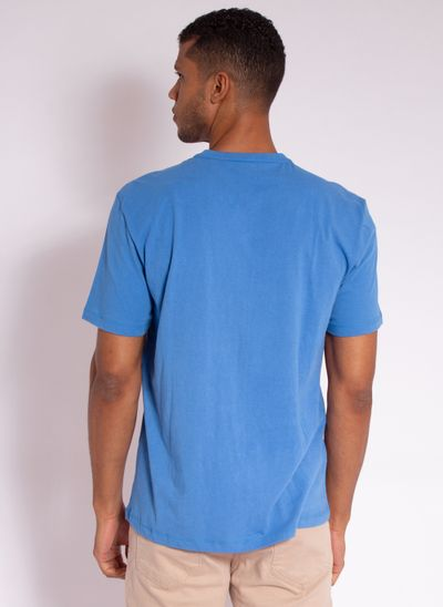camiseta-aleatory-estampada-azul-fluroscent-modelo-2-