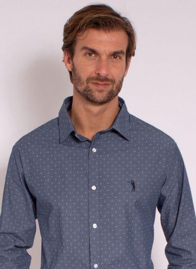 camisa-masculina-aleatorty-tech-strech-style-jeans-azul-modelo-1-