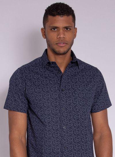camisa-masculina-aleatorty-tech-strech-drop-manda-curta-marinho-modelo-1-