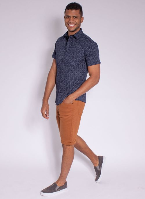 camisa-masculina-aleatorty-tech-strech-drop-manda-curta-marinho-modelo-3-