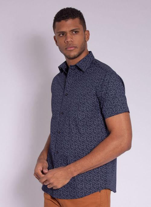 camisa-masculina-aleatorty-tech-strech-drop-manda-curta-marinho-modelo-4-