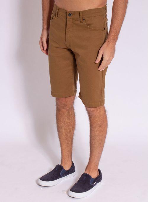bermuda-aleatory-masculina-sarja-plane-marrom-modelo-2-