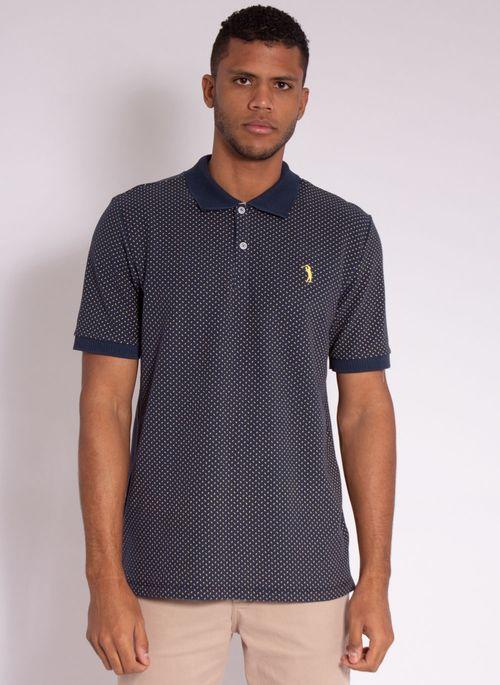 camisa-polo-aleatory-masculina-piquet-mini-print-fit-marinho-modelo-5-