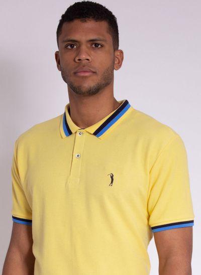 camisa-polo-aleatory-masculina-piquet-blast-amarelo-modelo-1-