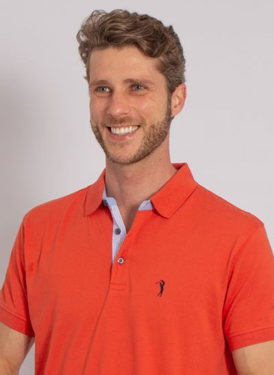 camisa-polo-aleatory-masculina-lisa-jersey-azul-laranja-modelo-2020-1-
