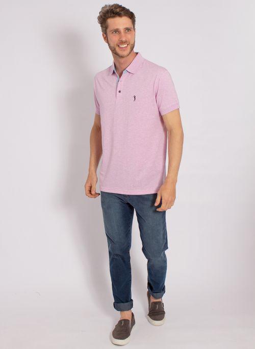 camisa-polo-aleatory-masculina-lisa-jersey-azul-mescla-modelo-2020-3-