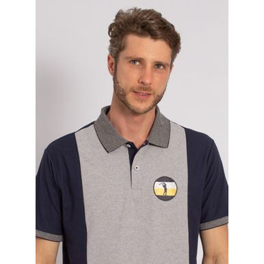 camisa-polo-aleatory-masculina-lisa-recortada-one-cinza-modelo-2020-1-