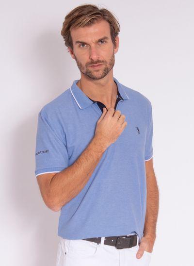 camisa-polo-aleatory-masculina-strenght-azul-modelo-2-