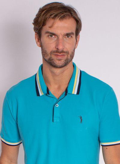 camisa-polo-aleatory-masculina-strong-azul-modelo-1-