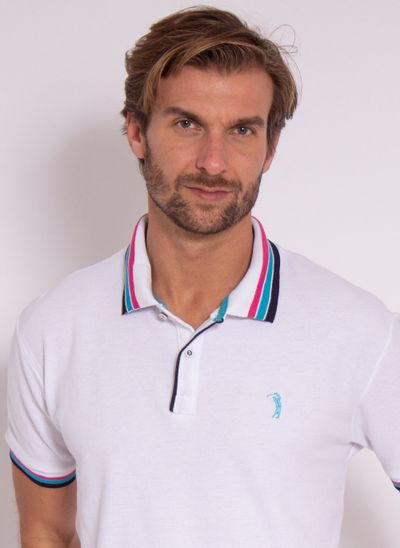 camisa-polo-aleatory-masculina-strong-branco-modelo-1-