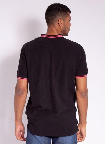 camisa-polo-aleatory-masculina-fantastic-preto-modelo-2-