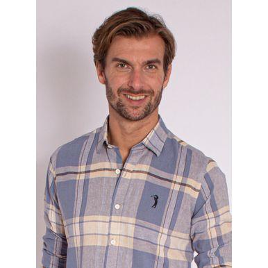 camisa-aleatory-masculina-linho-xadrez-azul-modelo-2020-2-