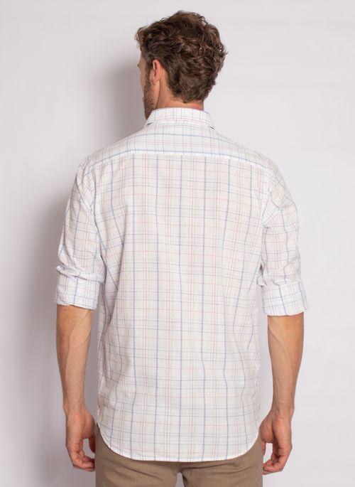 camisa-aleatory-masculina-xadrez-flame-branco-modelo-2-