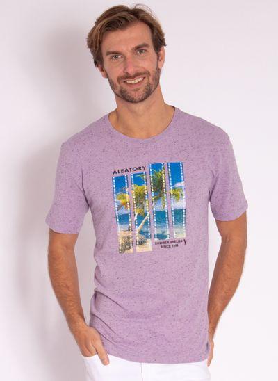 camiseta-masculina-aleatory-estampada-flim-roxa-modelo-2-