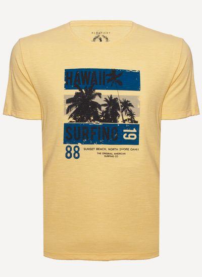 camiseta-aleatory-masculina-estampada-hawaii-amarela-still-1-