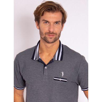 camisa-polo-aleatory-masculina-lisa-glow-marinho-modelo-1-