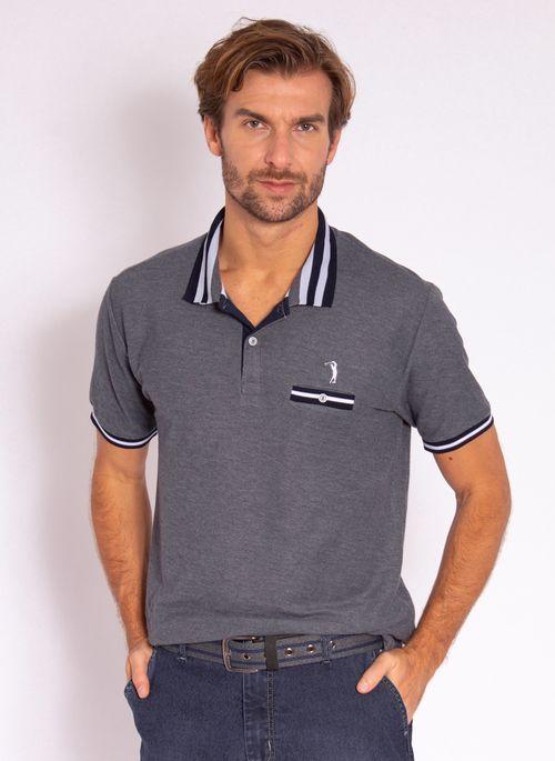 camisa-polo-aleatory-masculina-lisa-glow-marinho-modelo-2-