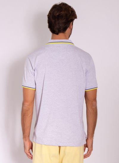 camisa-polo-aleatory-masculina-lisa-fearless-cinza-modelo-2-