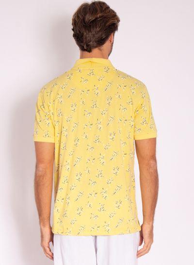 camisa-polo-aleatory-masculina-estampada-dream-amarelo-modelo-2-