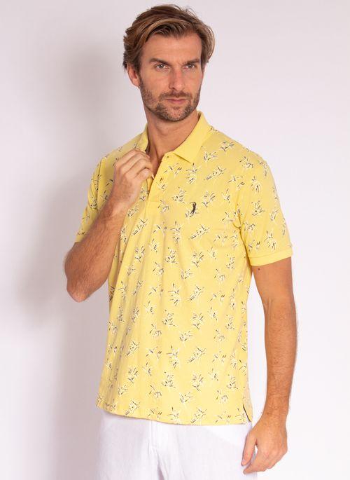 camisa-polo-aleatory-masculina-estampada-dream-amarelo-modelo-4-