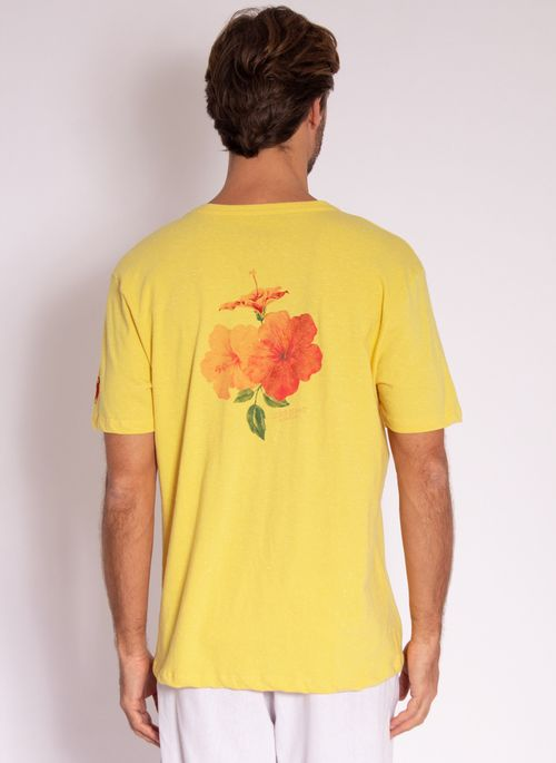 camiseta-aleatory-masculina-estampada-flower-amarelo-modelo-2-