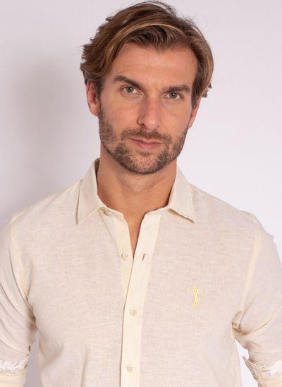 camisa-aleatory-masculina-manga-longa-linho-gentle-amarelo-modelo-1-