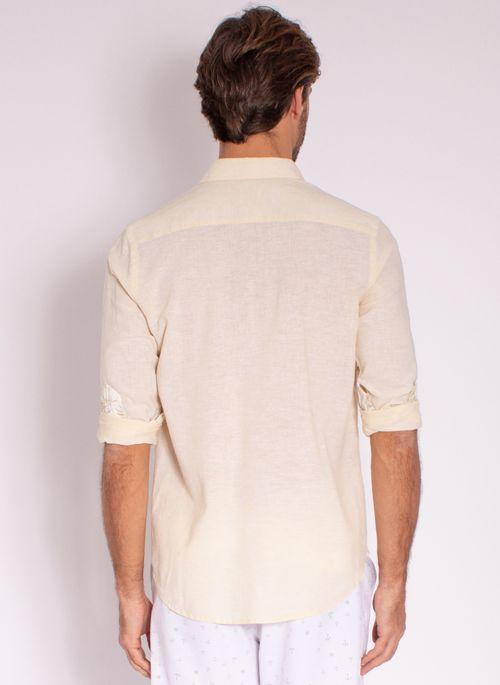 camisa-aleatory-masculina-manga-longa-linho-gentle-amarelo-modelo-2-