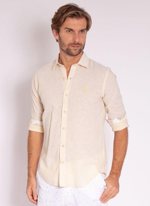 camisa-aleatory-masculina-manga-longa-linho-gentle-amarelo-modelo-4-