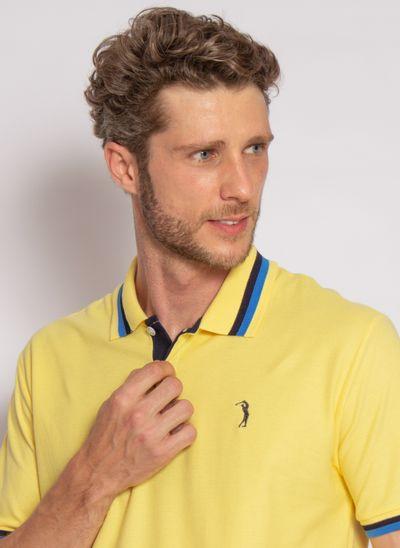 camisa-polo-aleatory-masculina-piquet-blast-amarelo-modelo-2020-1-
