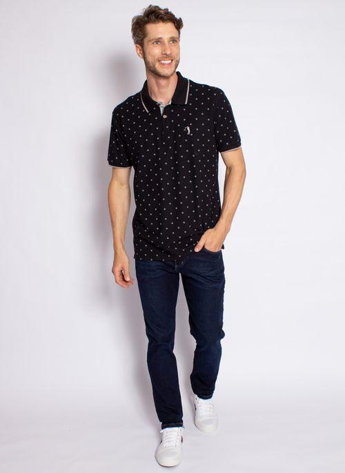 camisa-polo-aleatory-masculina-estampada-circle-preta-modelo-2020-3-