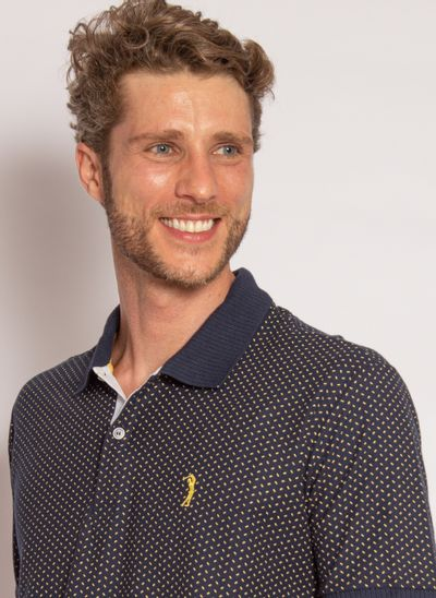camisa-polo-aleatory-masculina-piquet-mini-print-fit-marinho-modelo-2020-1-
