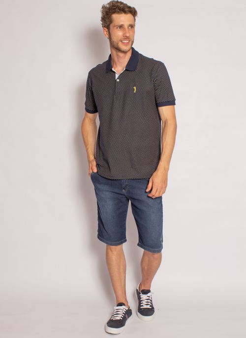 camisa-polo-aleatory-masculina-piquet-mini-print-fit-marinho-modelo-2020-3-