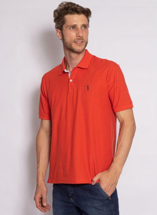 camisa-polo-aleatory-masculina-piquet-mini-print-fit-laranja-modelo-2020-4-