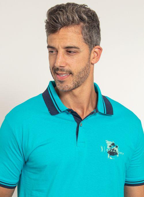 camisa-polo-aleatory-masculino-estampada-fair-azul-modelo-1-