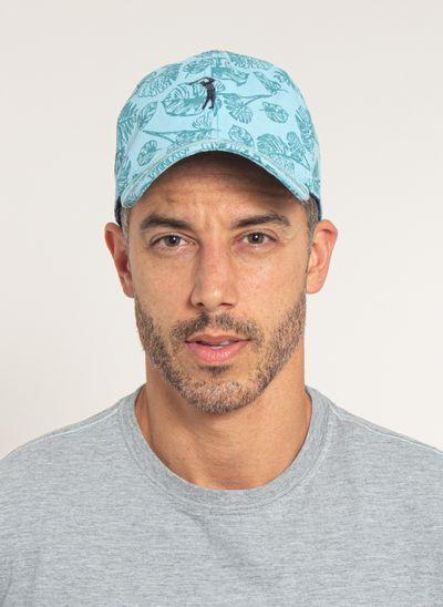 bone-aleatory-masculino-estampada-floral-azul-modelo-1-