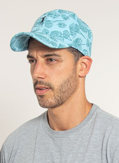 bone-aleatory-masculino-estampada-floral-azul-modelo-2-