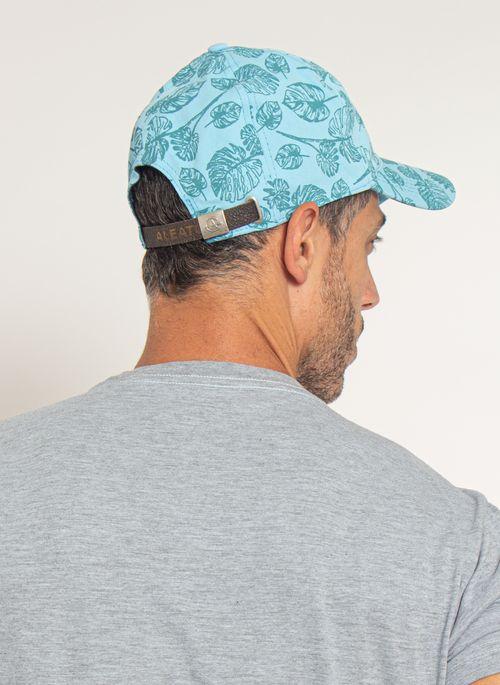 bone-aleatory-masculino-estampada-floral-azul-modelo-3-