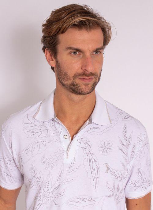 camisa-polo-aleatory-masculina-estampada-wise-branca-modelo-1-