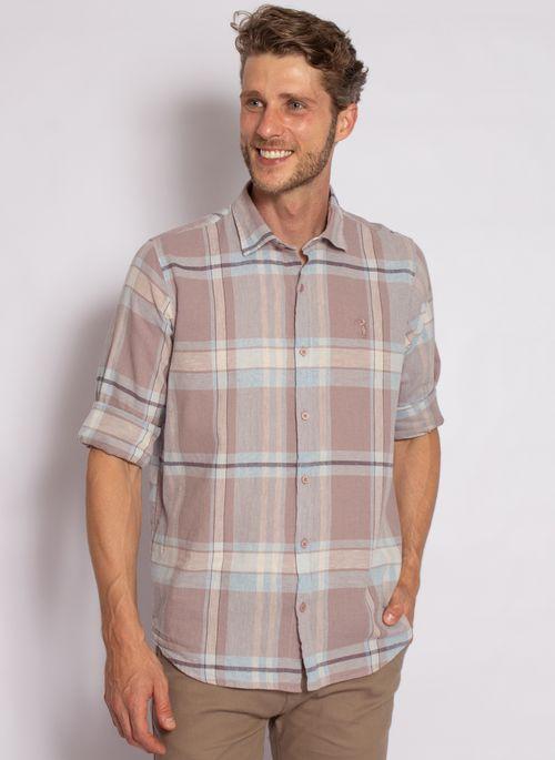 camisa-aleatory-masculina-linho-xadrez-cinza-2020-4-