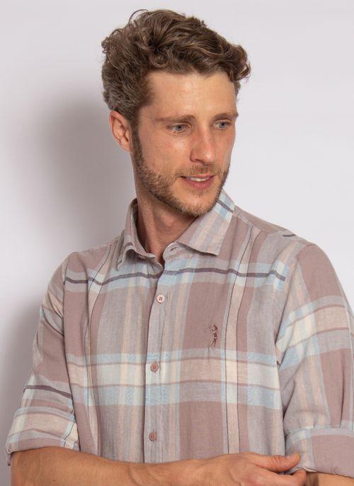 camisa-aleatory-masculina-linho-xadrez-cinza-2020-1-