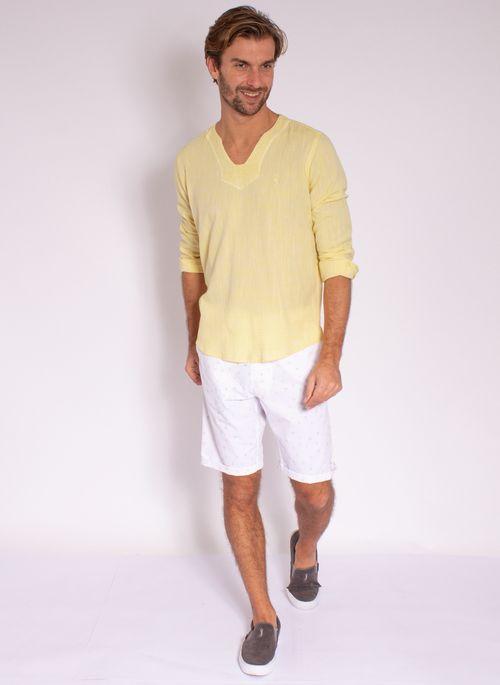camisa-aleatory-masculino-linho-calm-amarelo-modelo-3-