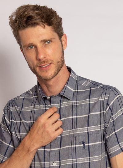 camisa-aleatory-manga-curta-masculina-tech-strech-xadrez-azul-2020-modelo-1-