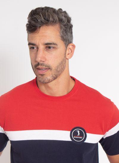 camiseta-aleatory-masculina-listrada-stamina-vermelha-modelo-1-